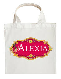 personalized halloween totes princess elena trick or treat bag personalized princess elena
