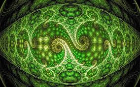 Neon Green Wallpaper by Psychedelic Fractal Design Wallpaper Abstract Wallpapers 25751