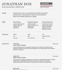 Sample Modern CV Template  Free Download