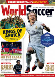 WorldSoccer   The unrivalled authority on soccer around the world World Soccer cover
