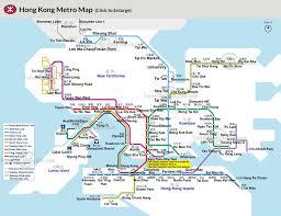 Canada Rail Map by Hong Kong Subway Map Metro Stations Lines