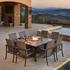 Patio Umbrella Side Table by Dining Sets Costco