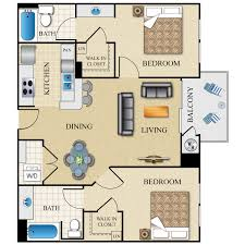 3 Bedroom Apartment Floor Plan The Visconti Availability Floor Plans U0026 Pricing