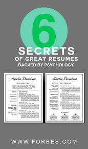 example of skills in resume 25 best resume skills ideas on pinterest resume builder 6 secrets of great resumes backed by psychology