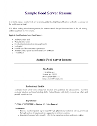 example of skills in resume bold design server skills resume 14 cover letter fine dining beautiful looking server skills resume 6 bar sample template examples for professional