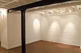 Black Ceiling Basement by Painting An Industrial Ceiling Black Open Basement Basements