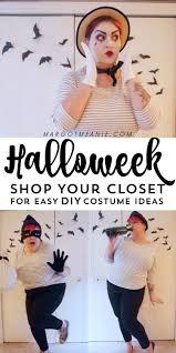 halloweek 3 easy diy plus size costumes margot meanie