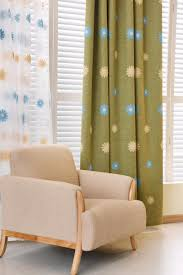 home decoration modern curtain embroidered flower curtains