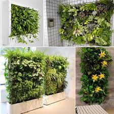 Outdoor Wall Planters by Hanging Wall Planters Indoor Home Design Ideas