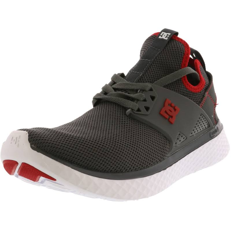 Dc Meridian Grey / Red White Ankle-High Women