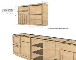 12 best collection of upper kitchen cabinet height
