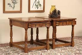 Stickley Floor Lamp Sold Pair Stickley Antiquities Oak Vintage Lamp Or End Tables