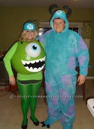 Monsters Baby Halloween Costumes Awesome Mike Sully Monsters Couples Costume Sully