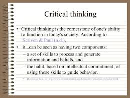 Critical thinking leadership   Smart Recommendations to Have Your     Business Analysis Certification   IBAR Critical Thinking Method