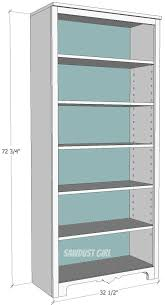 Simple Free Standing Shelf Plans by Best 25 Adjustable Shelving Ideas On Pinterest Traditional