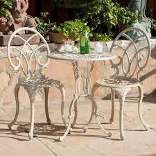 Cast Iron Patio Set Table Chairs Garden Furniture - aluminum patio dining sets patio design ideas metal furniture