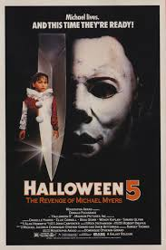halloween michael myers in background horror movie review halloween 5 the revenge of michael myers