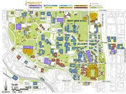 Uga Campus Map Ga Tech Campus Map My Blog
