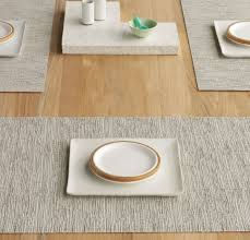 dining room chilewich placemats bamboo table runner with