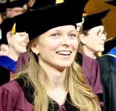 Female PhD graduate at commencement ceremony  ASU Graduate Education   Arizona State University