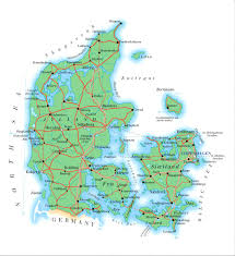 Detailed Map Of Germany by Maps Of Denmark Map Library Maps Of The World