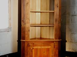 custom corner cabinet with open top by ecustomfinishes reclaimed