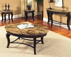 Steve Silver Dining Room Furniture Steve Silver Hamlyn 5 Piece Round Faux Marble Top Metal Dining