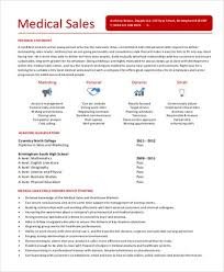 Sample Sales Representative Resume      Examples in Word  PDF
