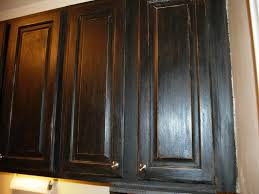 Antiqued Kitchen Cabinets by Distressed Black Kitchen Cabinets Black Distressed Kitchen