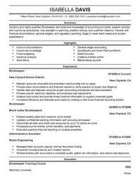 Aaaaeroincus Splendid Best Bookkeeper Resume Example Livecareer With Fair More Bookkeeper Resume Examples With Charming Registered