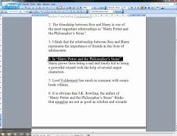 Comparative essay outline