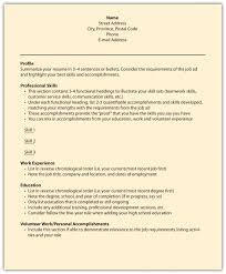 Resume With Volunteer Work Personal Statement Volunteer Work Example