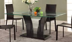 Wood Dining Room Dining Table Designs In Wood And Glass Custom Home Design