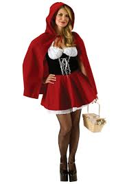 size red riding hood costume