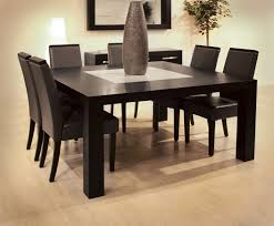 Contemporary Dining Room Table by Dining Room Teetotal Black Table And Chairs Of For Contemporary