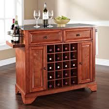 how to make a kitchen island with wine rack modern kitchen