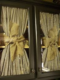 love the checked fabric u0026 burlap ribbon really like the look of