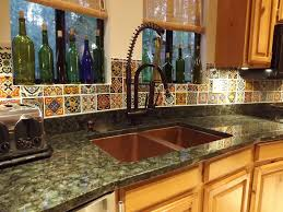 Rustic Kitchen Backsplash 28 Mexican Tile Kitchen Backsplash Rustic Kitchen With High