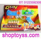 Toàn Quốc - <b>Súng bắn đạn</b> cao su gun toy, đồ chơi trẻ em an toàn, máy