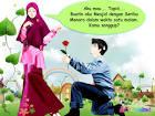 Ikatan Sahabat Muslim: Animasi Gadis Muslim Berjilbab Cantik