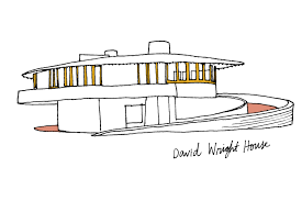 David Wright House An Illustrated Guide To Frank Lloyd Wright Curbed