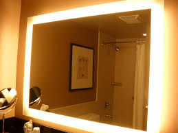 Bathroom Cabinet With Mirror And Light by Bathroom Perfect Makeup Mirror With Lighted Bathroom Mirror