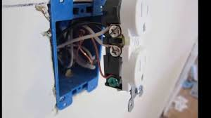 Cool Electrical Outlets by How Install An Electric Outlet In An Existing Wall Youtube