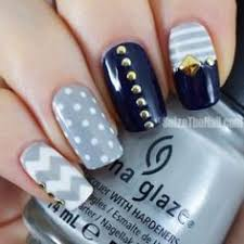 dark blue marine nail design one1lady com nail nails