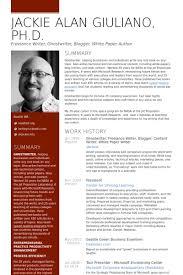 Freelance Writer  Blogger  Content Writer Resume Samples VisualCV