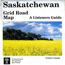 Map Grid Listener U0027s Guide To The Saskatchewan Grid Road Map Disc 1 Eric