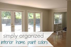 indoor house paint colors and interior paint color schemes for
