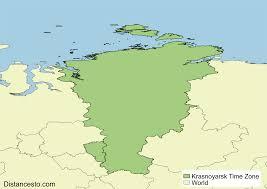 World Time Zones Map by Krat Krasnoyarsk Time Zone