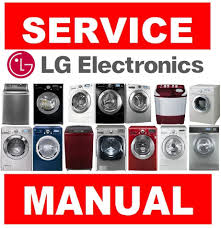 lg washing machine dryer service manual u0026 repair guide choose