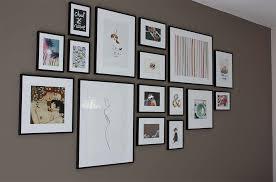 taille de cadre photo mon mur de cadres dans mon cocon
